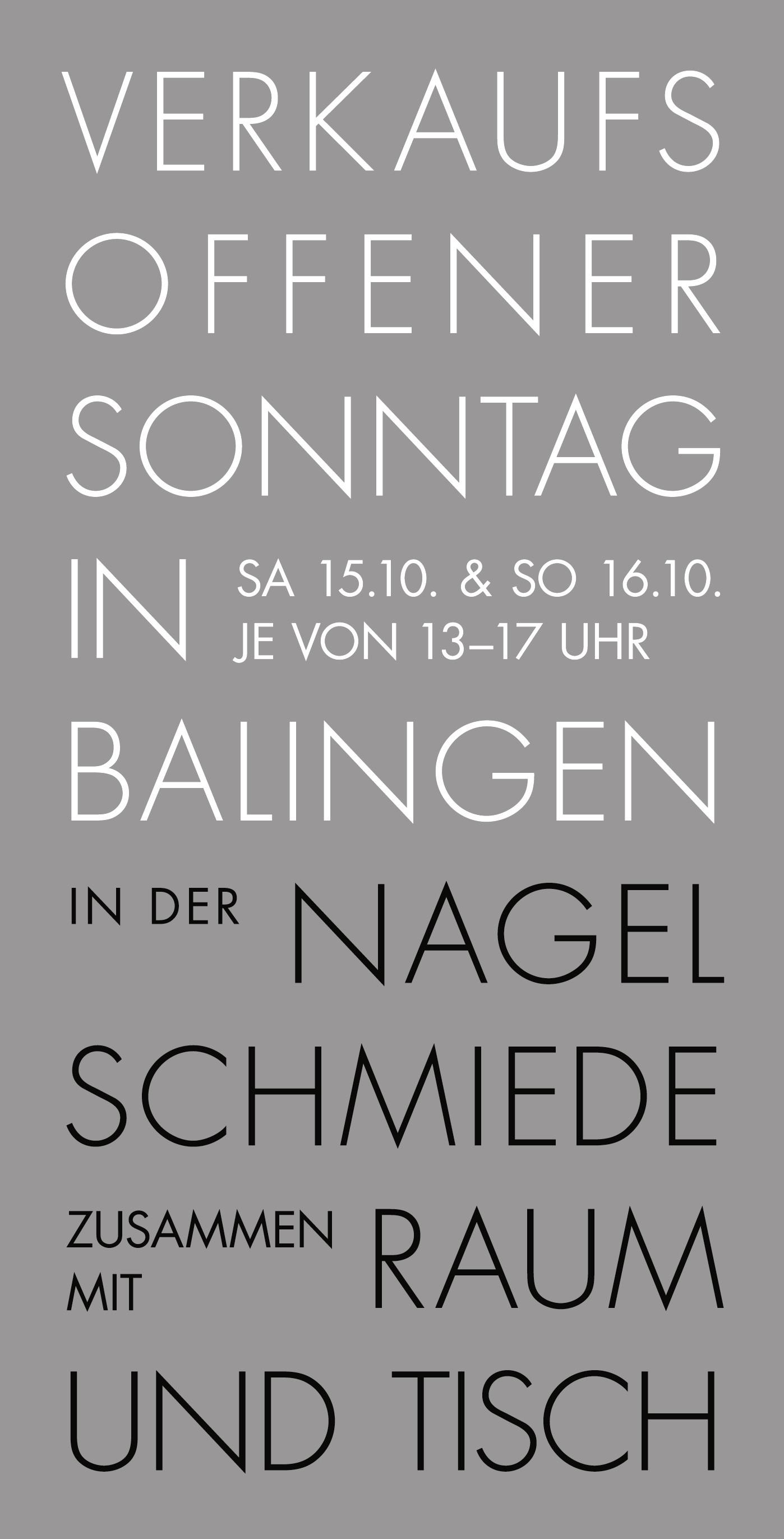 Verkaufsoffener Sonntag in Balingen 2016